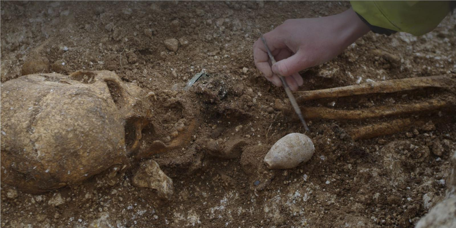 Excavating an inhumation burial