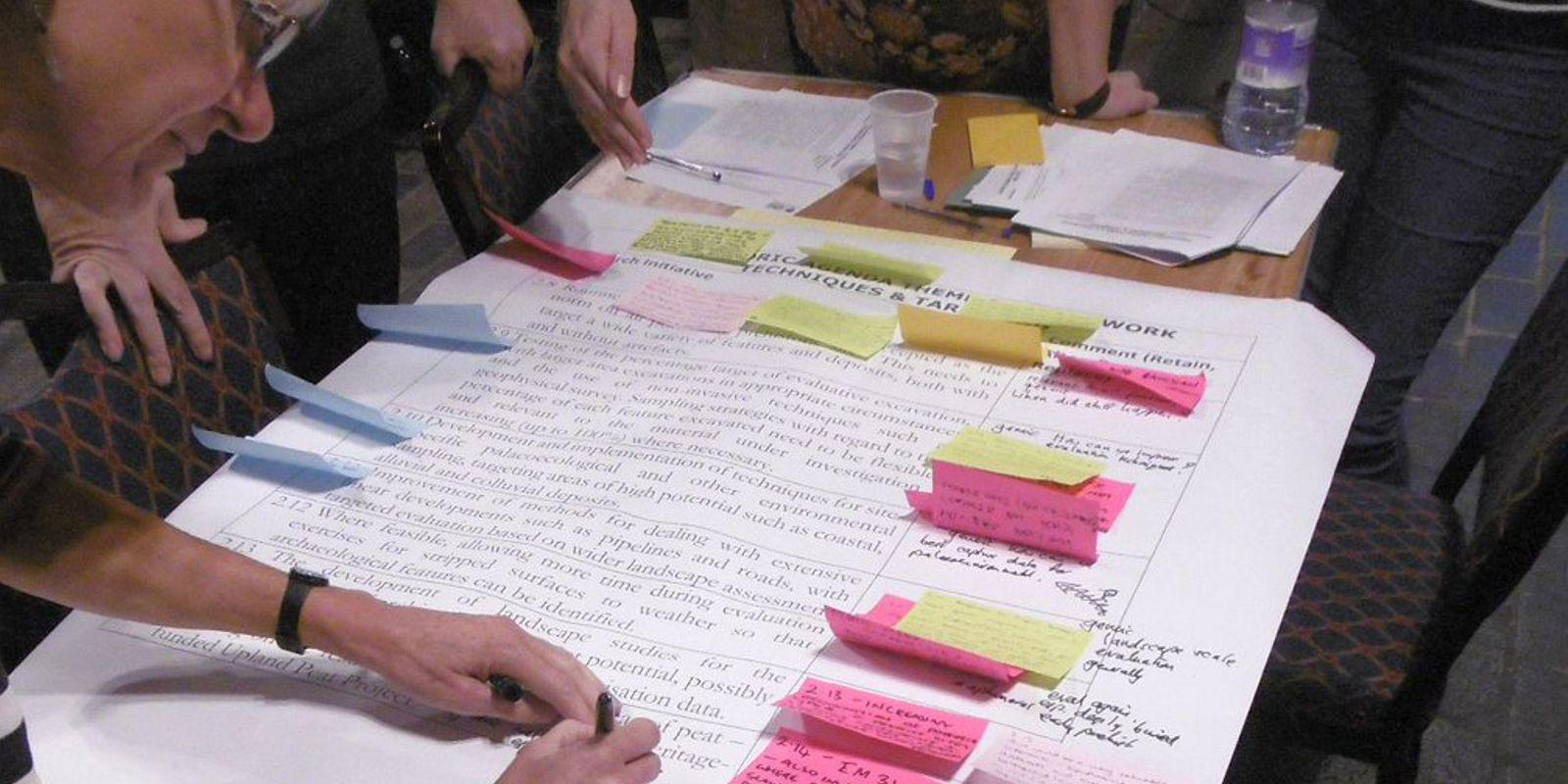 Adding notes to the existing research framework