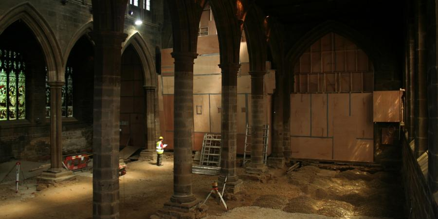 Excavations at Wakefield Cathedral
