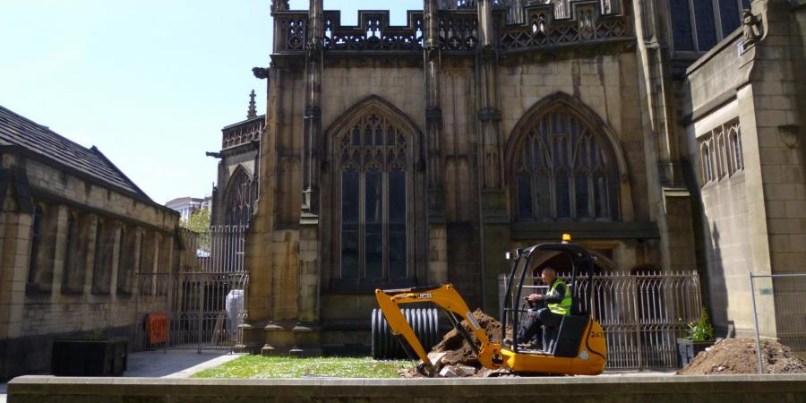 Excavations at Manchester Cathedral