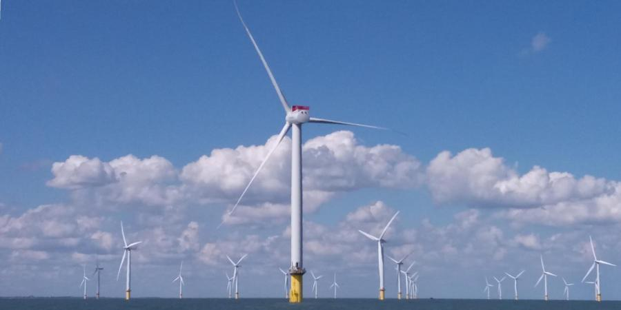 Offshore Renewables: a wind turbines at sea