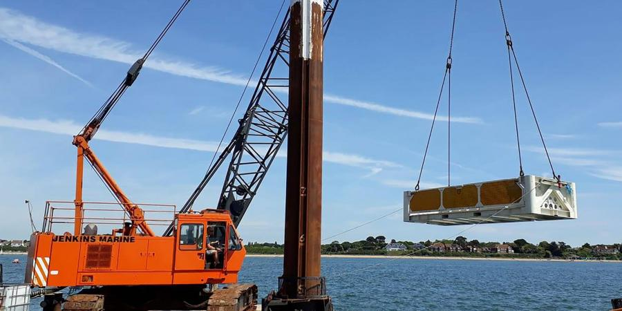 Recovery of a rare WW2 aircraft lifted from the sea