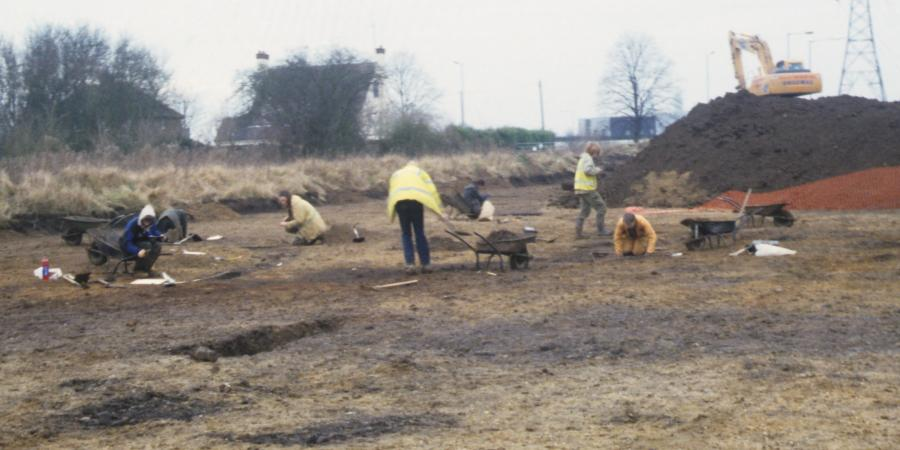 Archaeological work at Eaton Socon