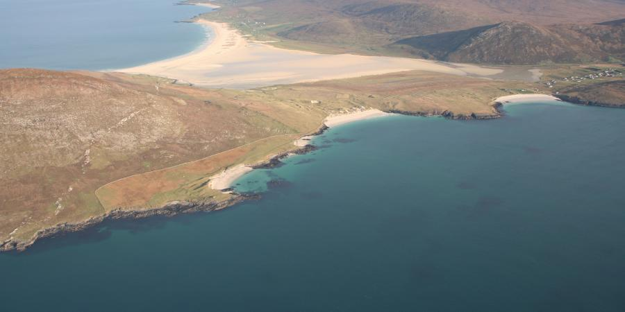 Aerial photography survey Outer Hebrides, Scotland's designated historic assets