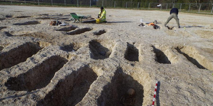 Excavations at Bulford as part of the Amy Basing Programme