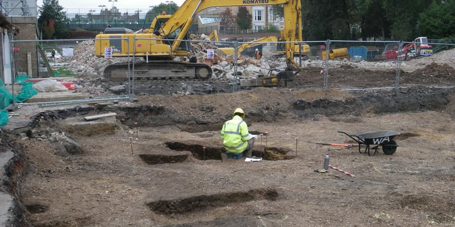 Two separate phases of excavation were undertaken by Wessex Archaeology at Holland Park School in the Royal Borough of Kensington and Chelsea. The works include the demolition of the existing 1950s-built school and the building of a new school and sports area.
