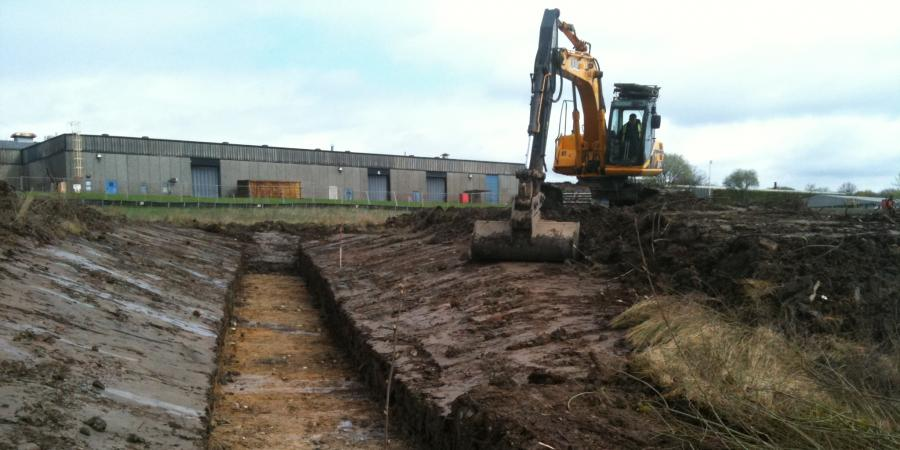 Archaeological Trial Trenching at Exide Battery Works, Bolton