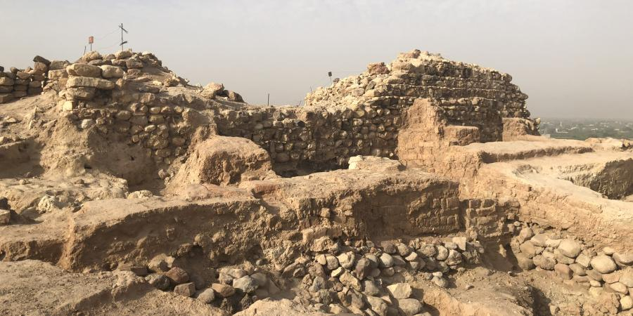 Bronze Age site with Iron Age fort, Jordan