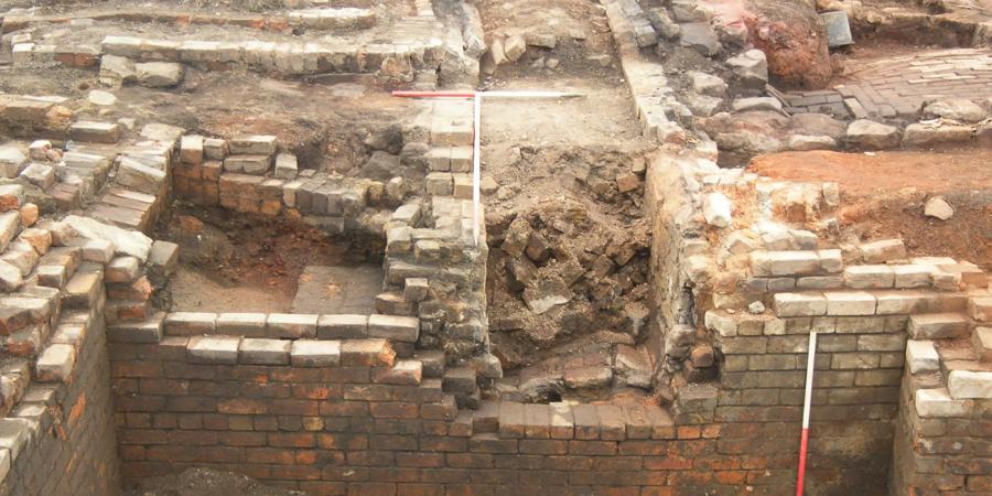 Building remains found at New Don Glass Works, Mexborough