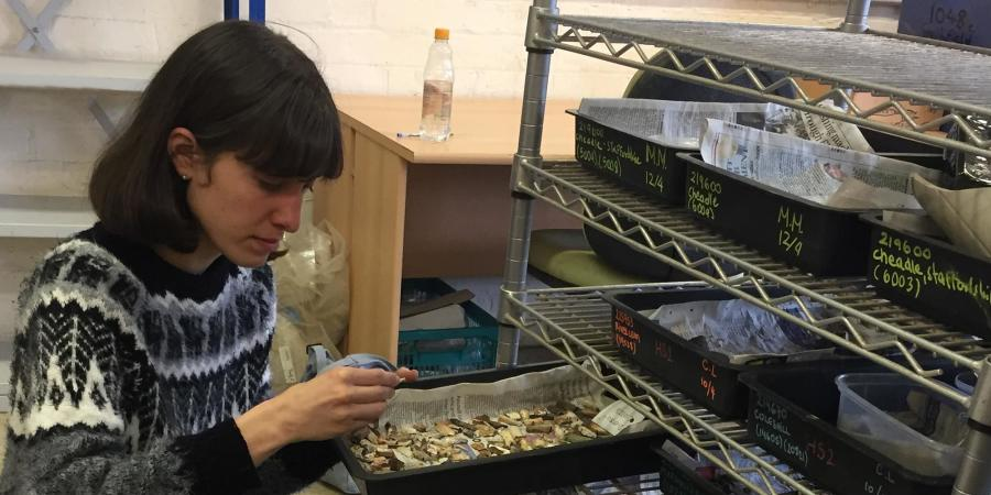 Cecilia Levratto work experience at Wessex Archaeology in Sheffield