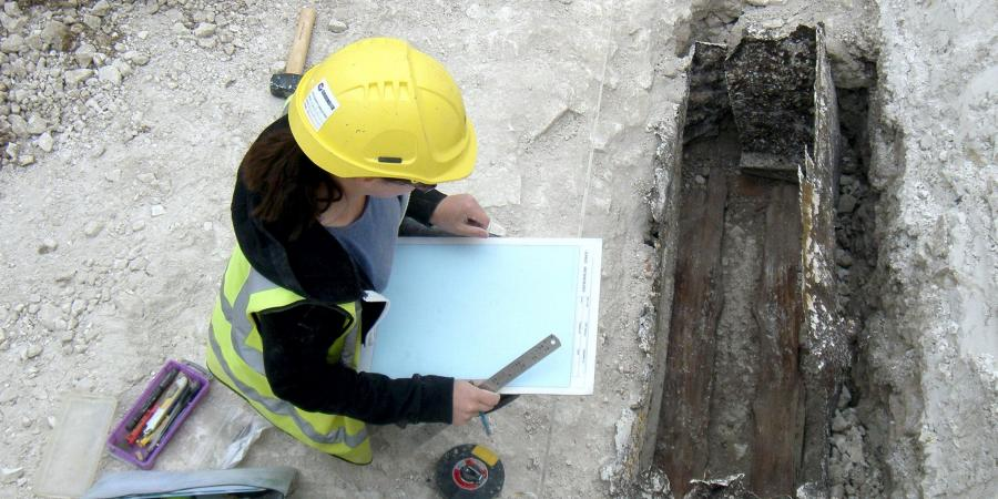 Recording the WWI practice trenches at Larkhill