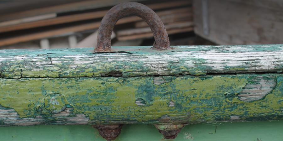 Rollock on a small vessel Scottish Fisheries Museum