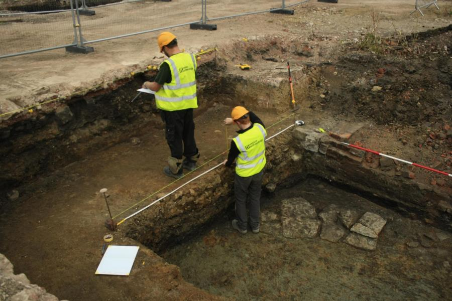 Excavations at Sheffield Castle