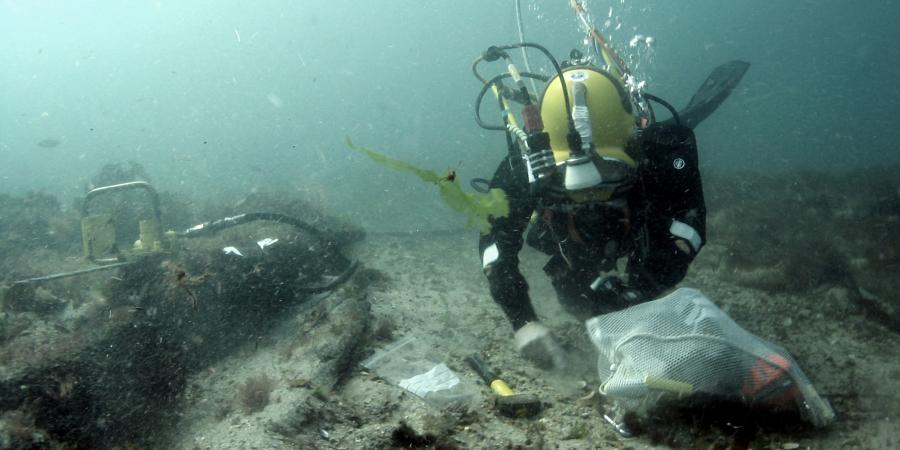 Swash Wreck Site - Archaeological Services in Relation to Marine Protection