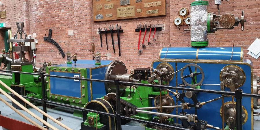 Visiting the Bolton Steam Museum as part of the North West Industrial Archaeology Society Conference
