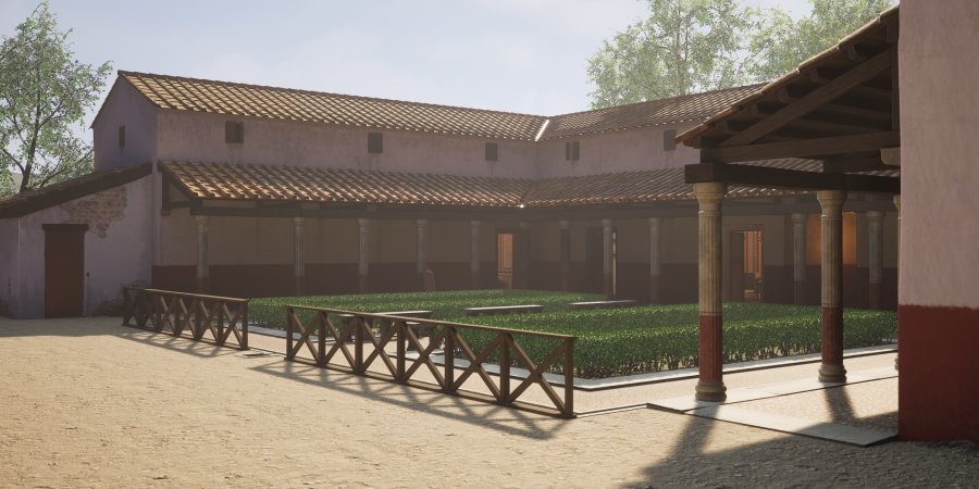 Heritage Interpretation from Wessex Archaeology 3D Reconstruction
