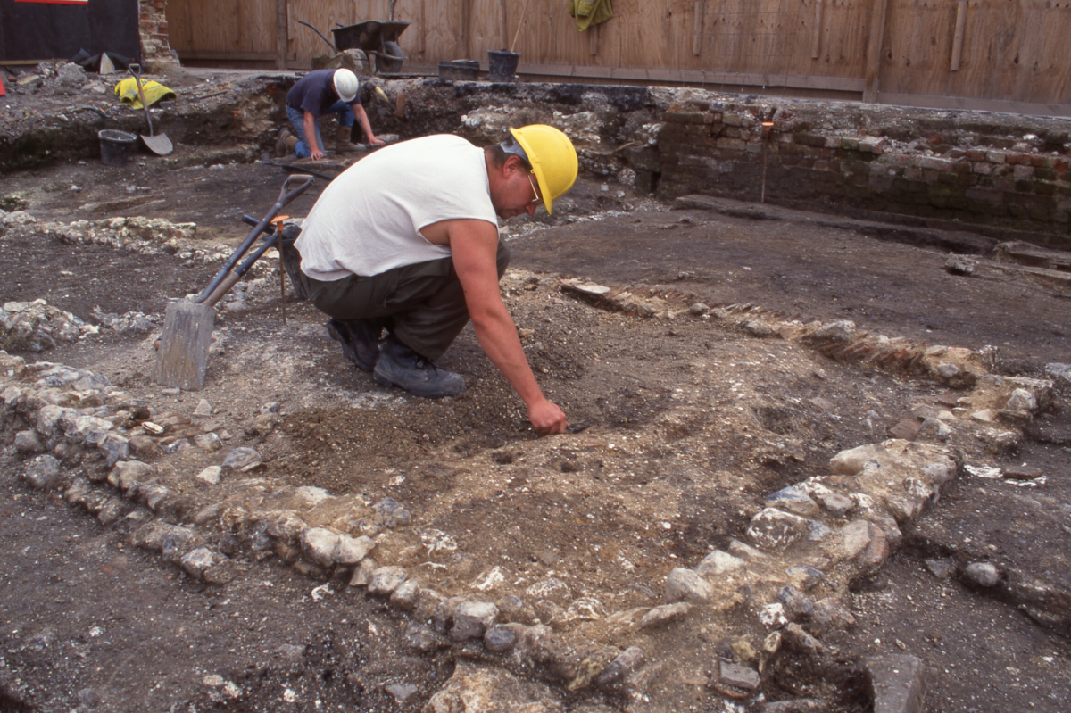 Excavations at Anchor Brewery