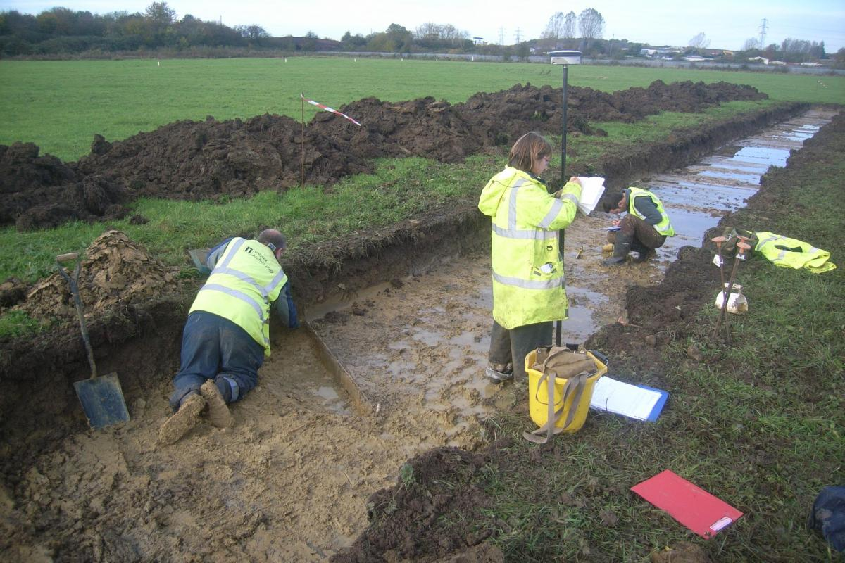 Wichelstowe Southern Access Scheme - Evaluation trenches