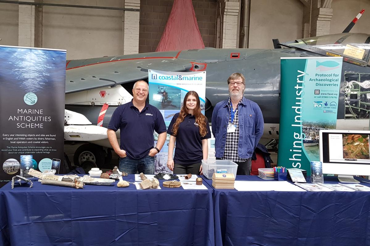 our stand at the RAF centenary event