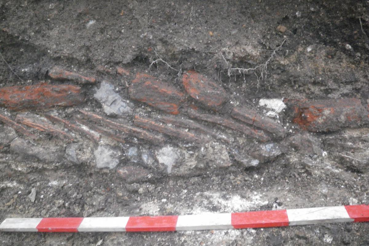 A previously unrecorded late medieval or early post medieval tenement foundation discovered during excavations at Endless Street