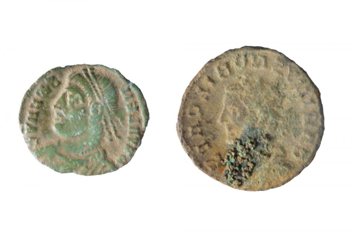 Coins from Eaton Socon