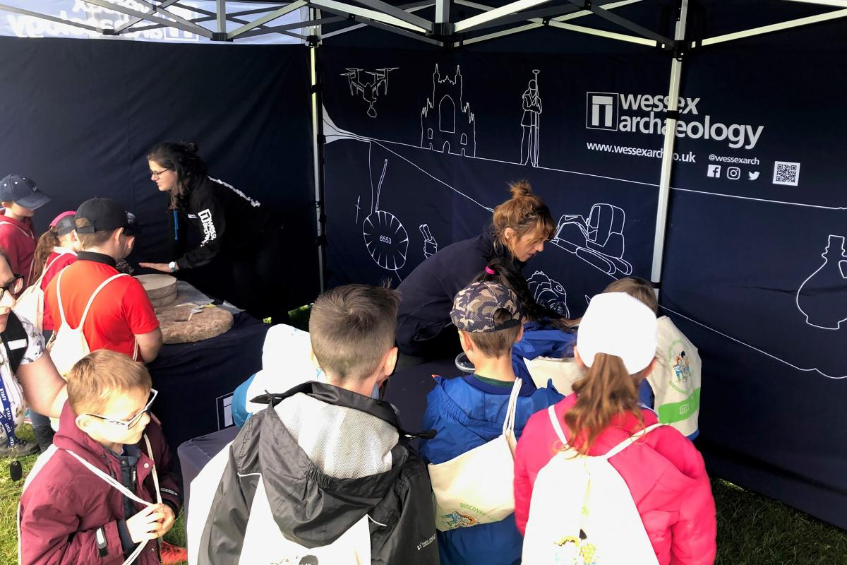 Wessex Archaeology engaging Young People with Agriculture