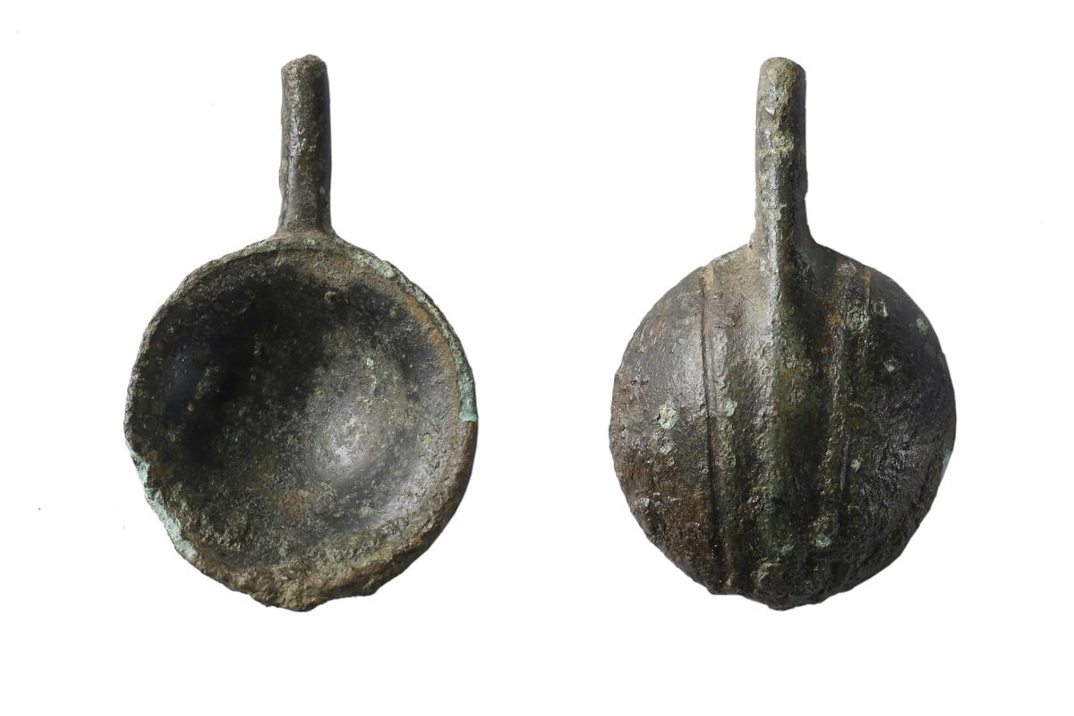 Roman spoon from excavations at Beanacre, Wiltshire