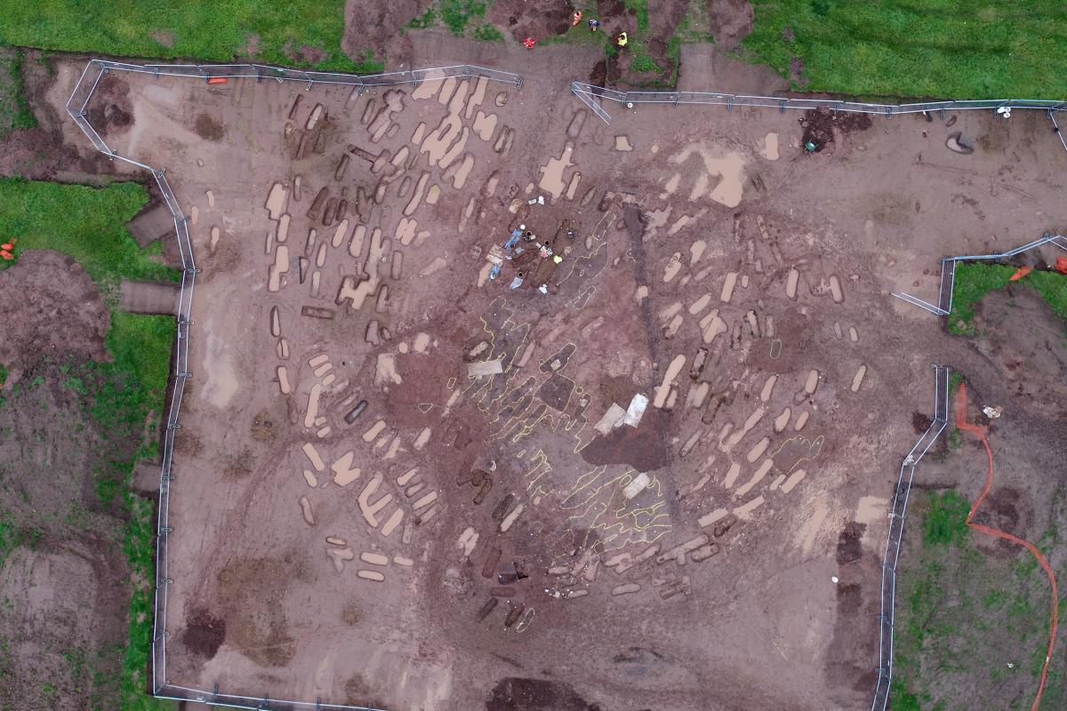Excavations underway at Yatton: A trackway to the past