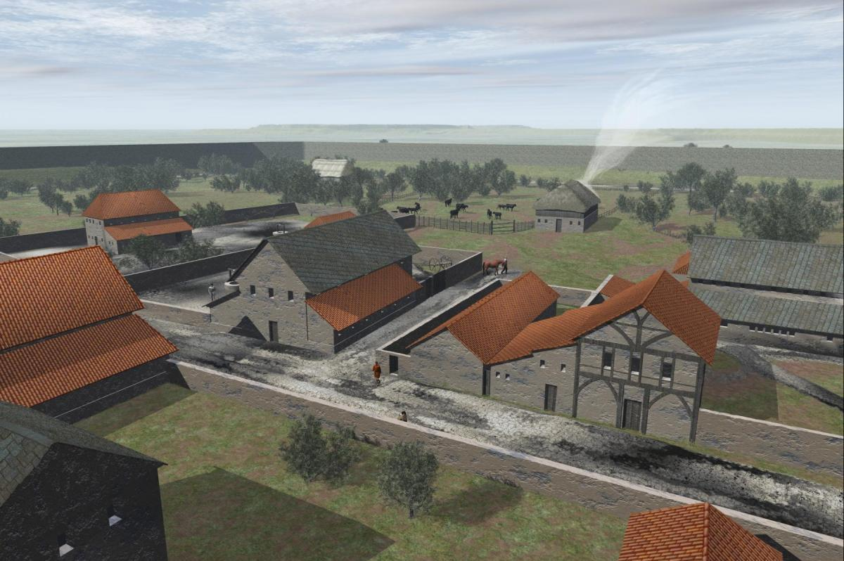 Reconstruction of Roman Dorchester