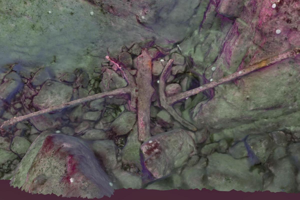 Photogrammetry of the wreck site