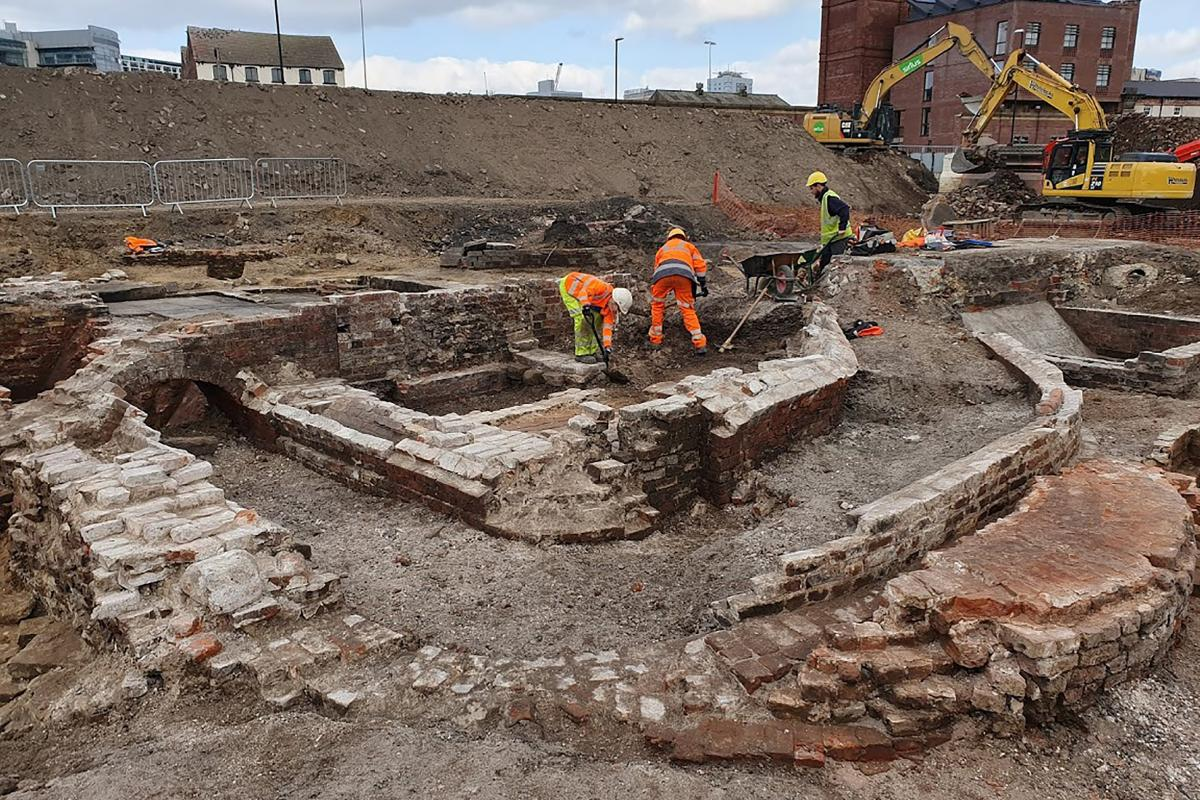 Excavations at Marshall's Mills, Leeds - Mill A