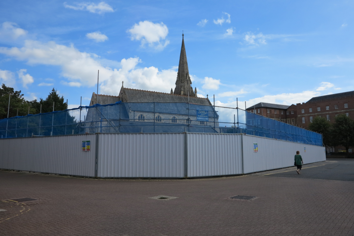 The site at the Maltings in 2020