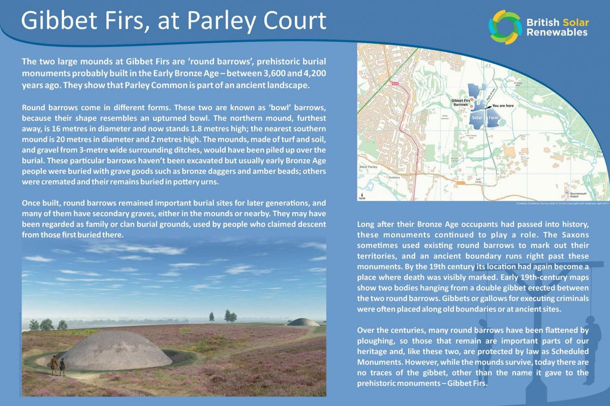 Gibbet Firs Parley Court Display Panel