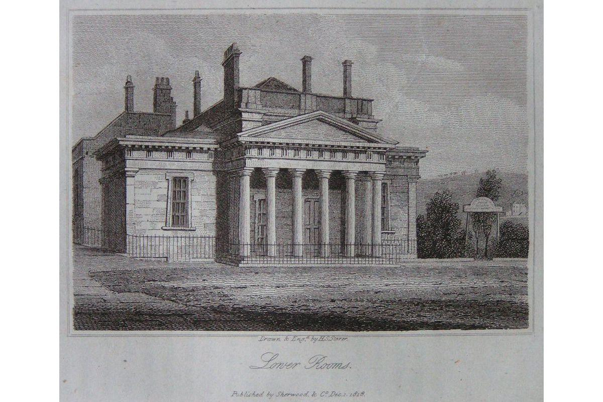 Lower Rooms Published by Sherwood & Co. Dec 1, 1818