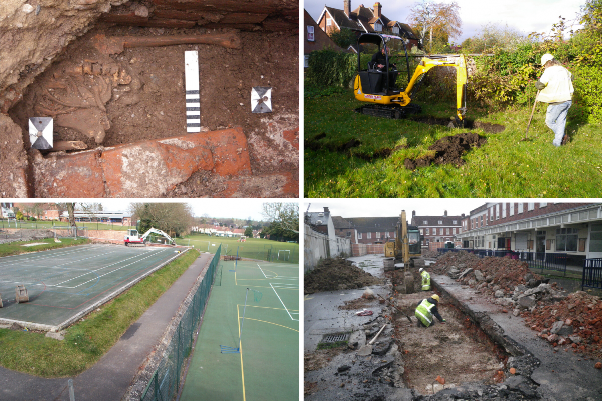 Excavating various sites in Salisbury over the last 40 years