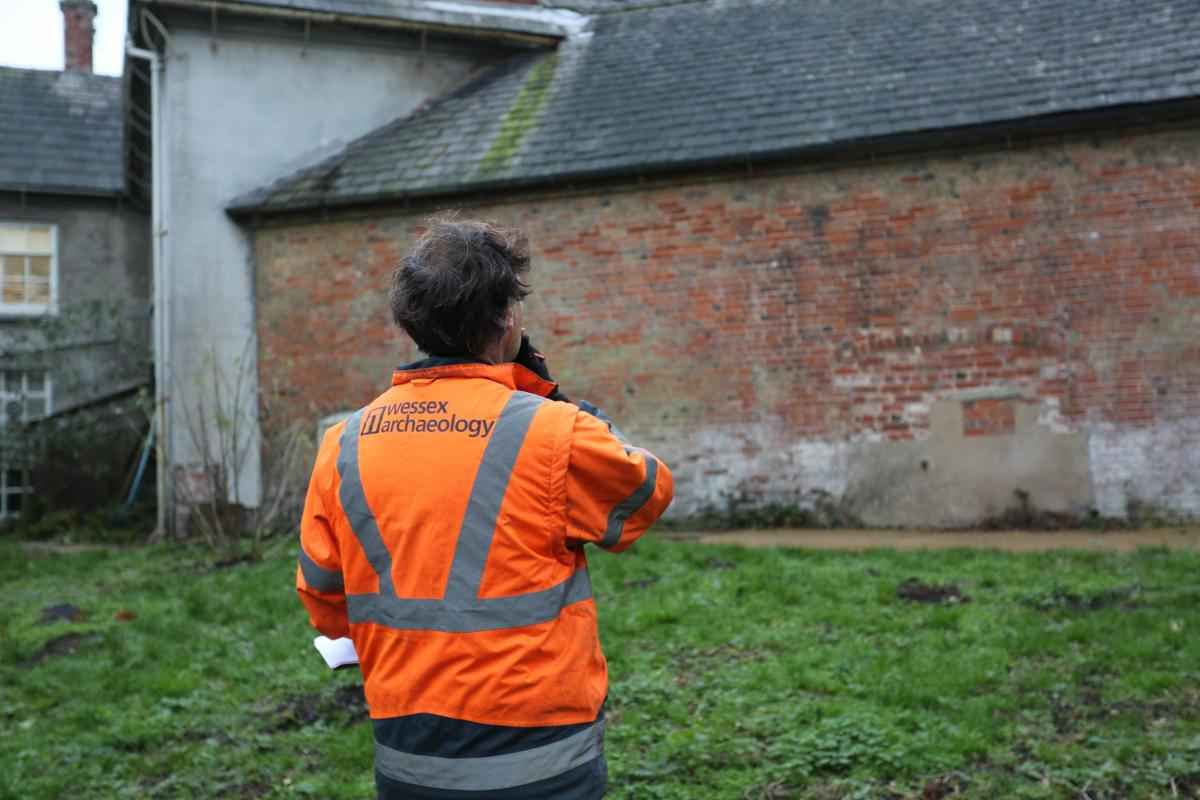 Built Heritage recording work at Shugborough Estate