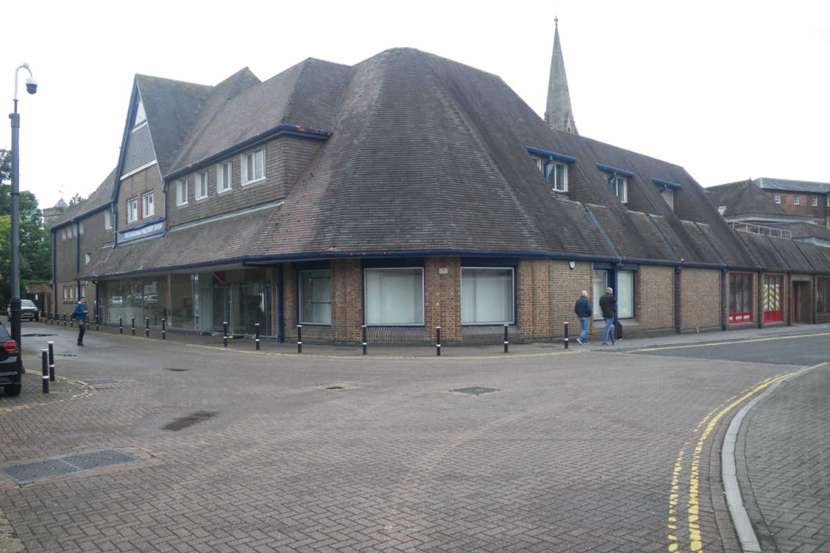 The site at the Maltings in 2019