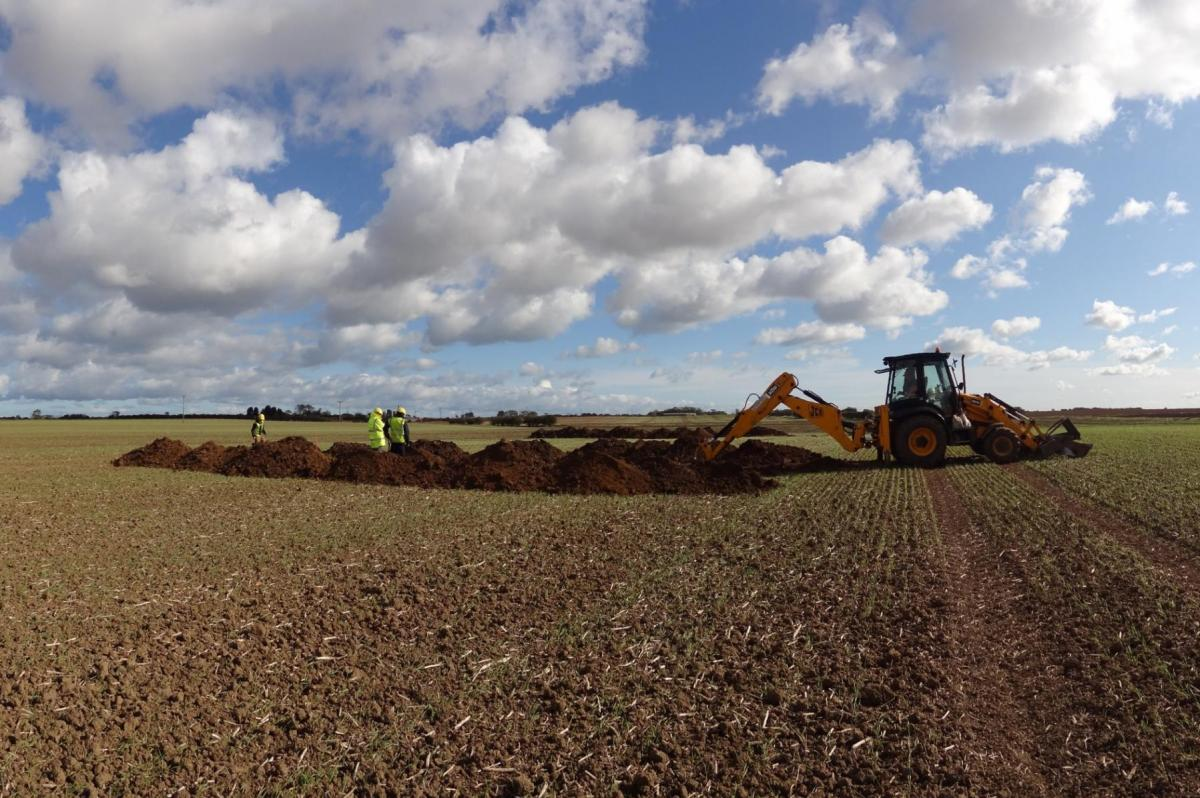 Trial Trenching at Humber