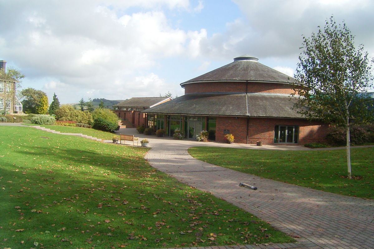 The new Performing Arts Centre at the Godolphin School