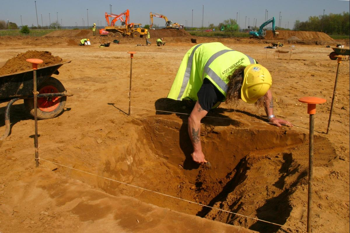 West Malling and Leybourne excavation