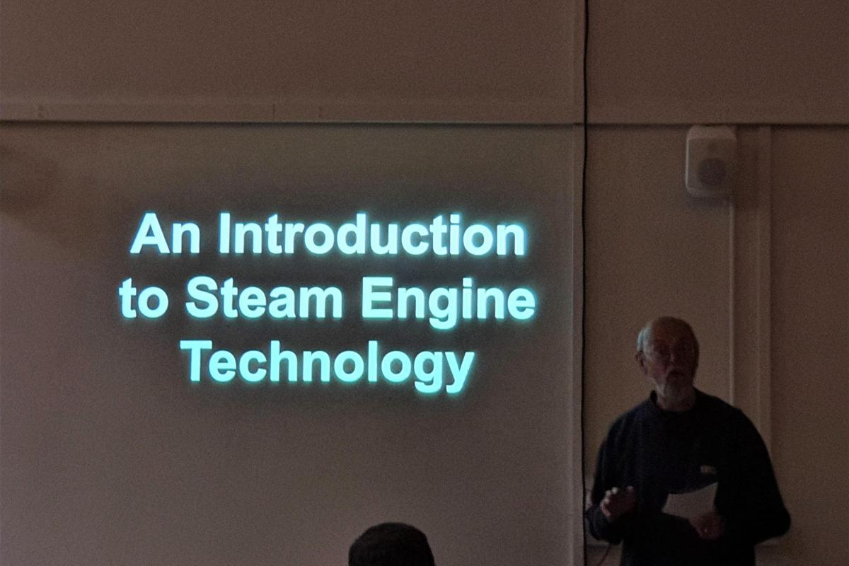 An introduction to steam engine technology at the NW Industrial Archaeology Society Conference