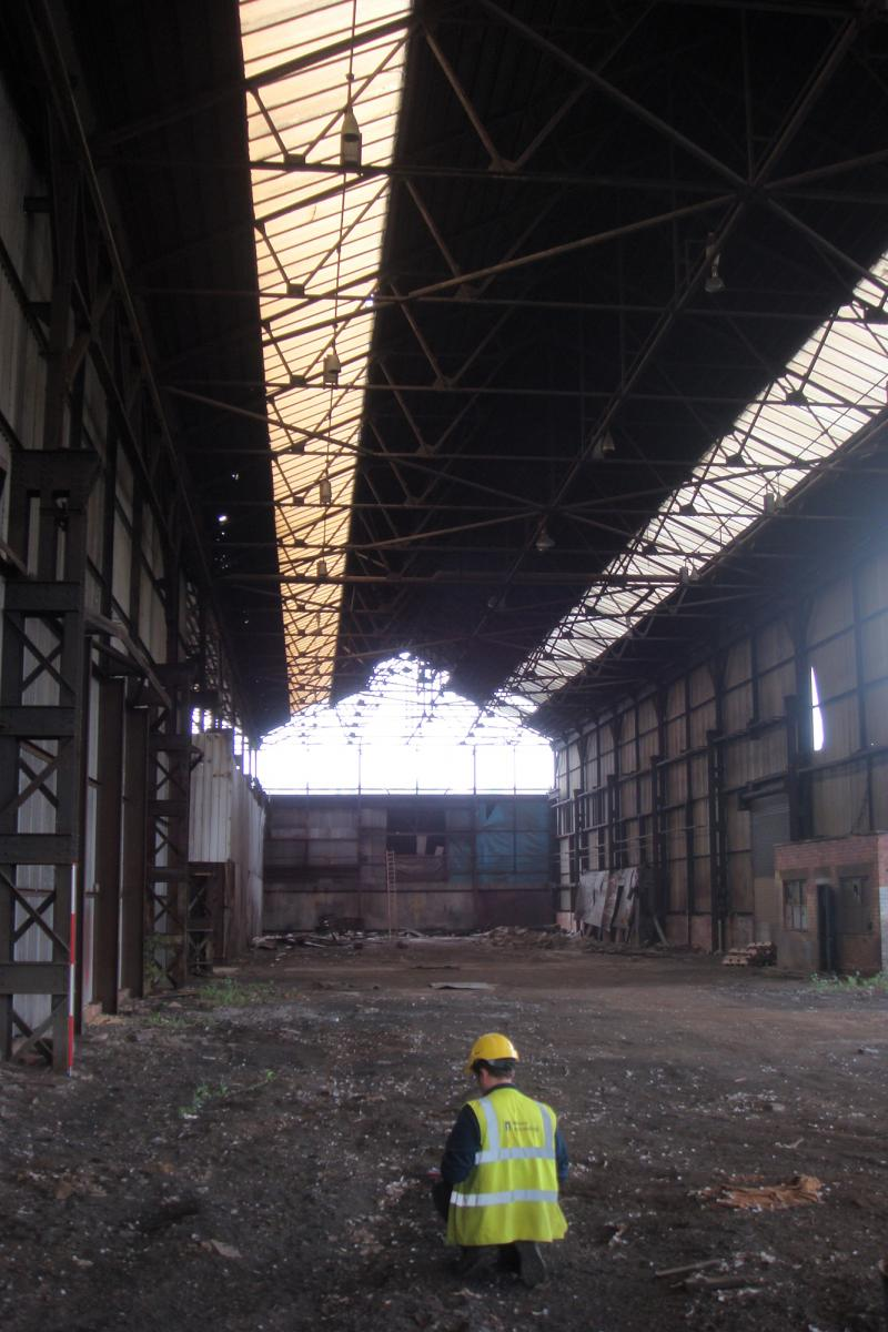 Inside Staybrite Works, Sheffield