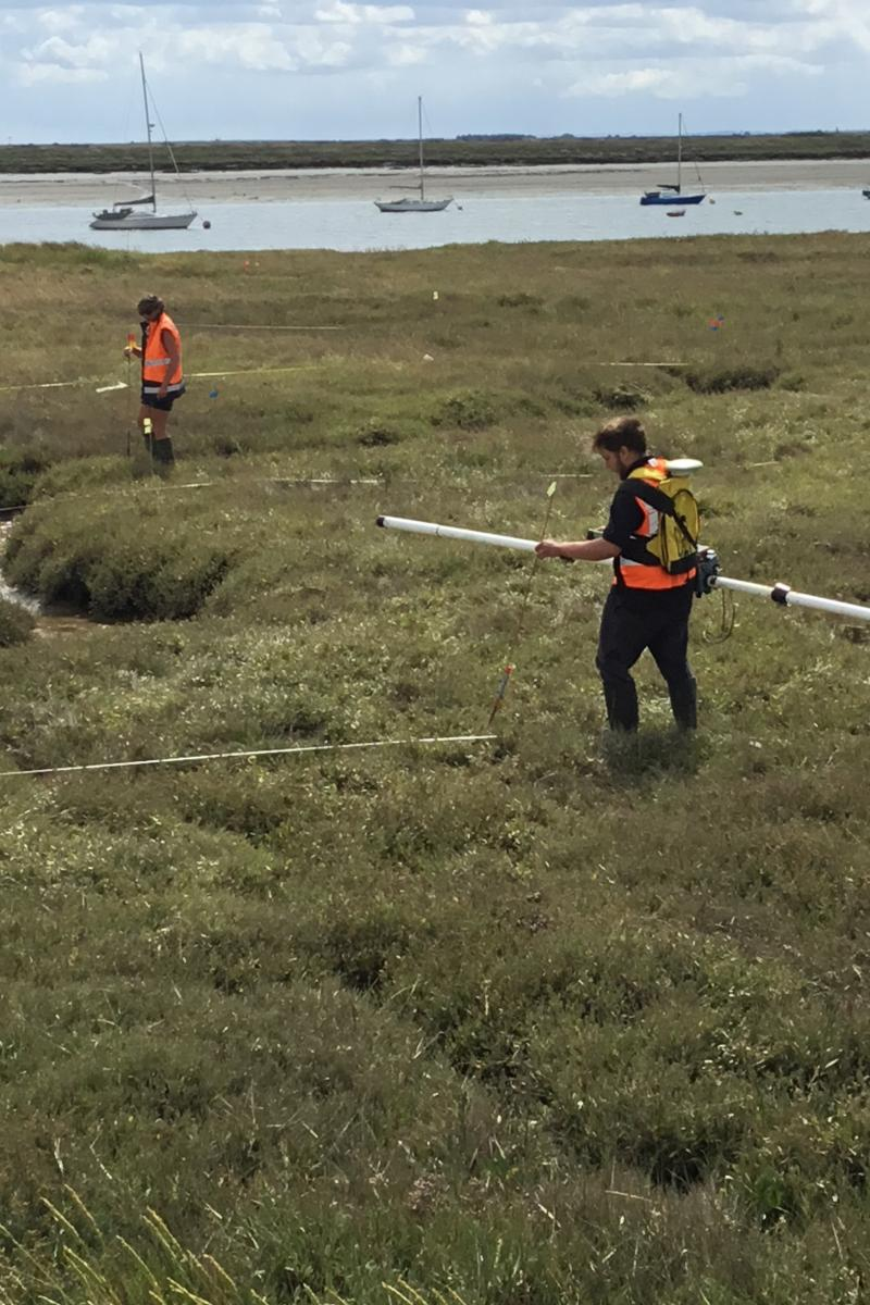 Geophysical investigations continue for the HMS Beagle