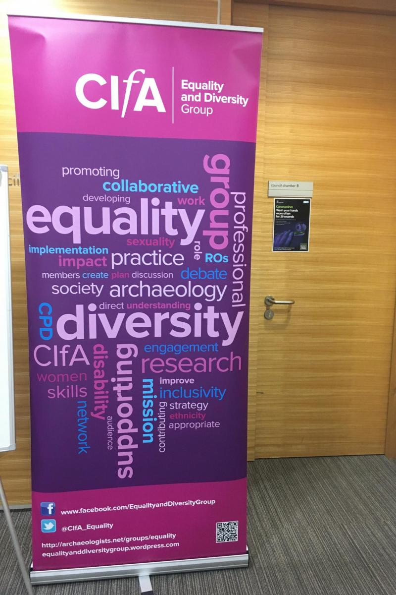 Attending CifA's 'Inspiring Equality' conference