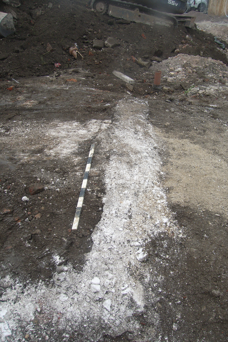 Excavations at 32 Winchester Street by Wessex Archaeology