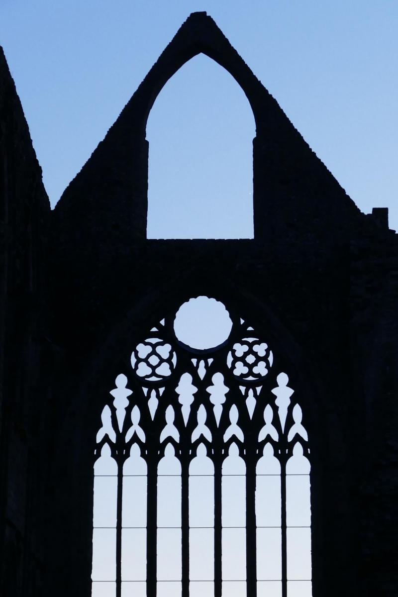 Drawing on Heritage: Window tracery, Tintern Abbey