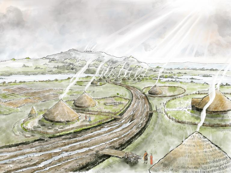 Reconstruction of Yatton: A trackway to the past