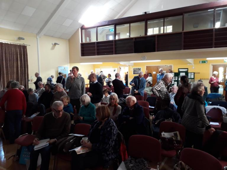 The audience at the Berkshire Archaeological Society annual day school