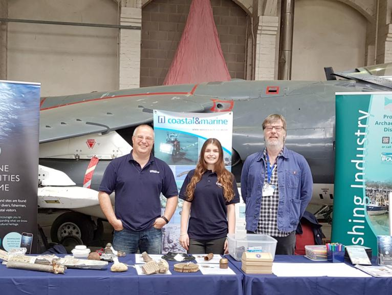 Our stand at the RAF centenary celebration