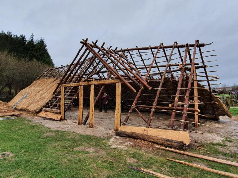 Building Butser's Neolithic House: answers and questions
